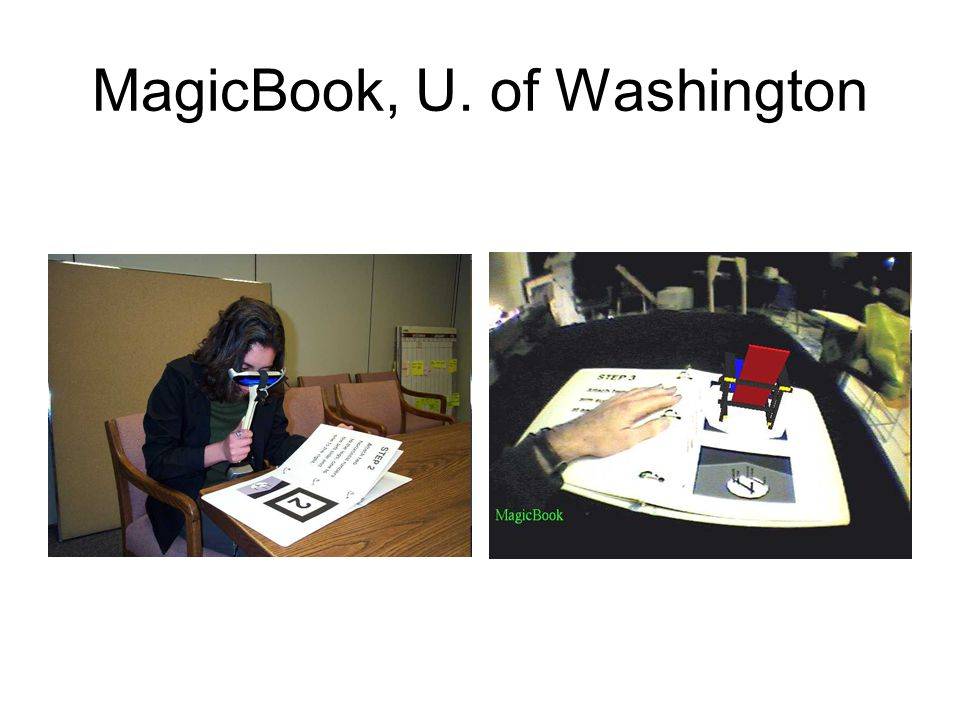 MagicBook, U. of Washington