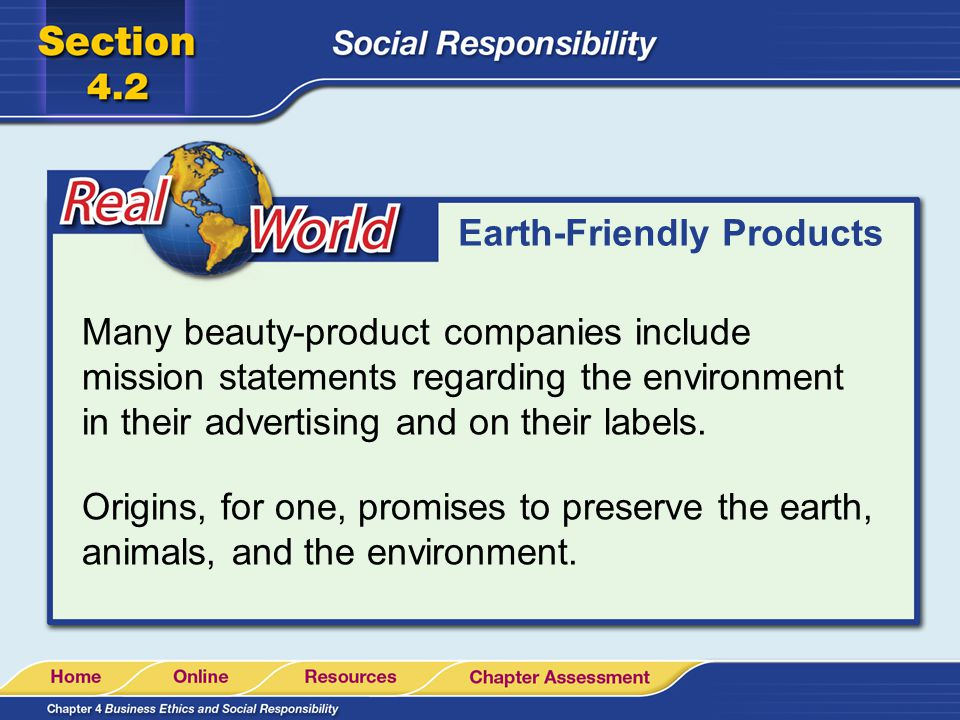 Earth-Friendly Products