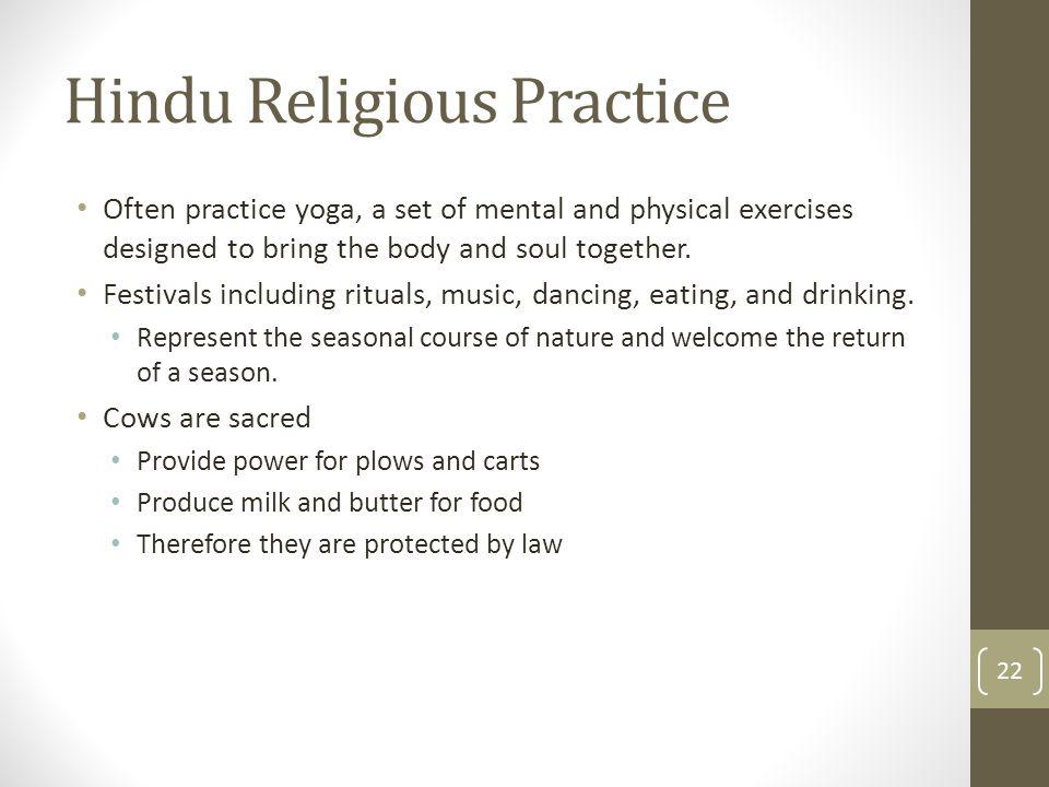 Hindu Religious Practice