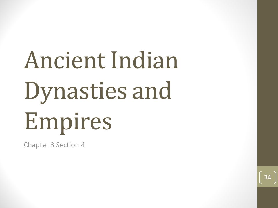 Ancient Indian Dynasties and Empires