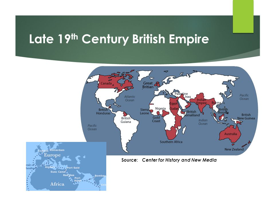 Late 19th Century British Empire