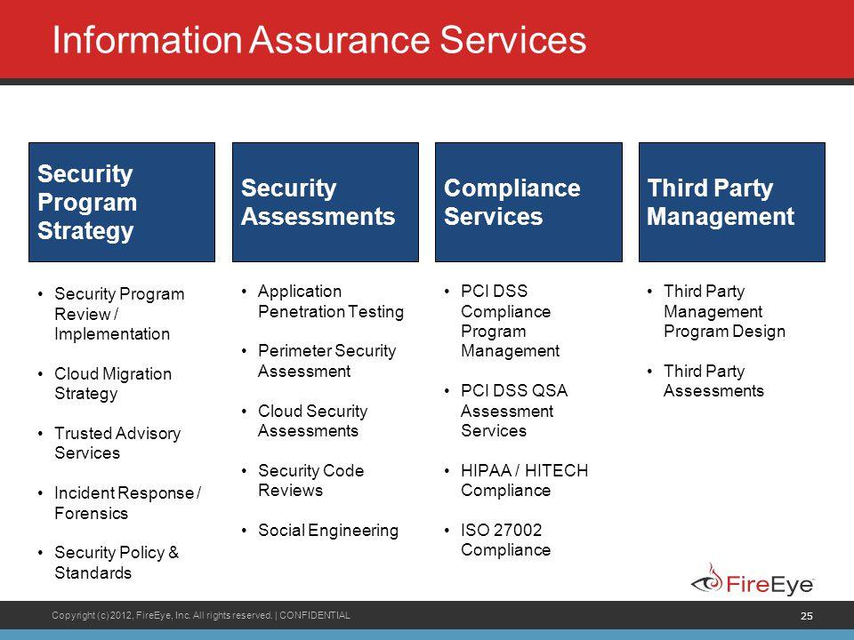 Information Assurance Services