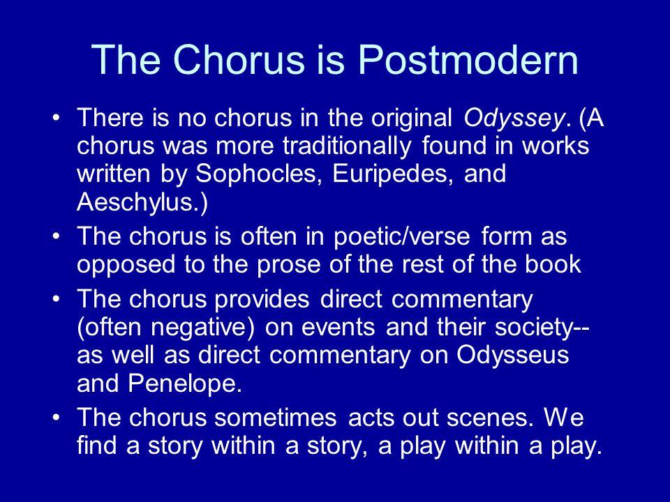 The Chorus is Postmodern