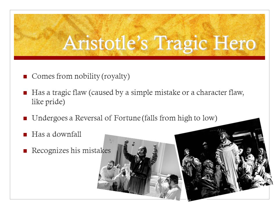 Aristotle's Tragic Hero