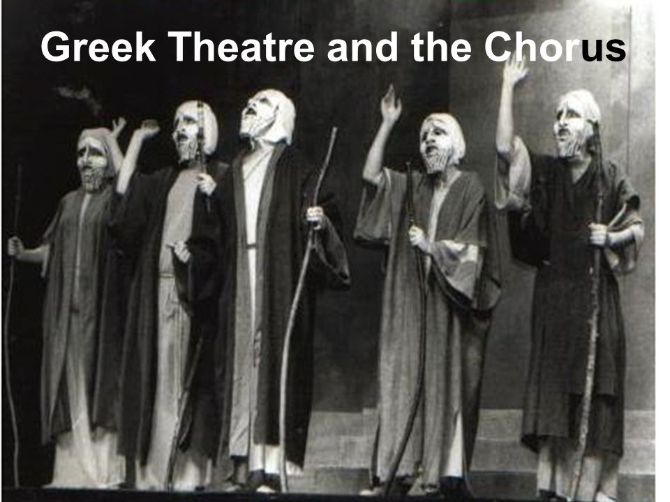 role of chorus in greek theatre