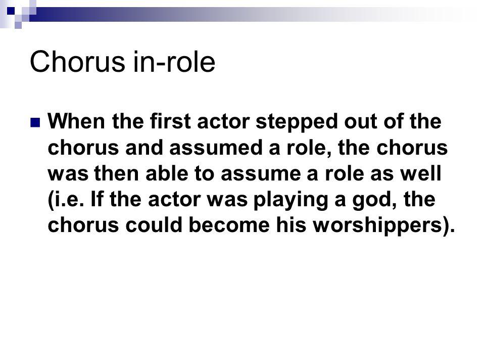 Chorus in-role