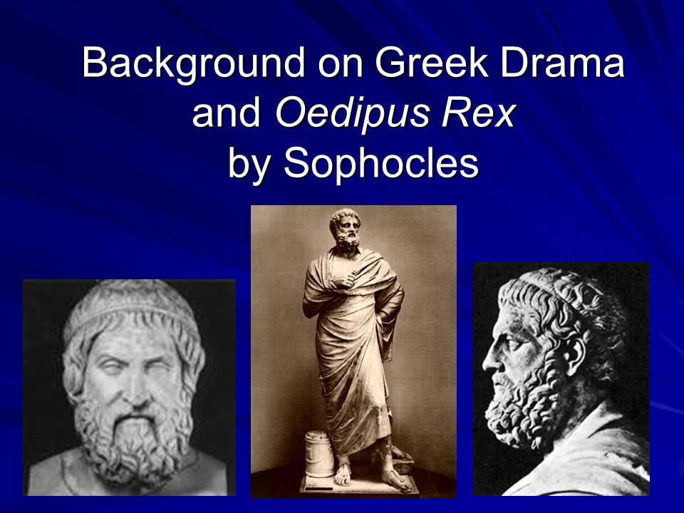 an analysis of oedipus rex an ancient greek tragedy by sophocles