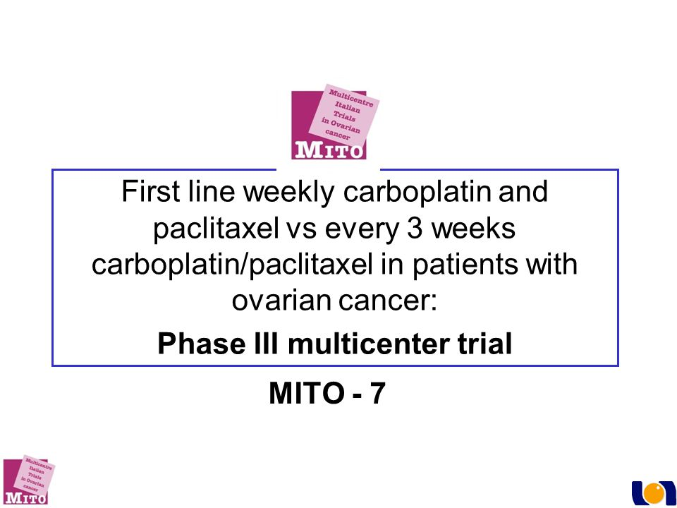 Phase III multicenter trial
