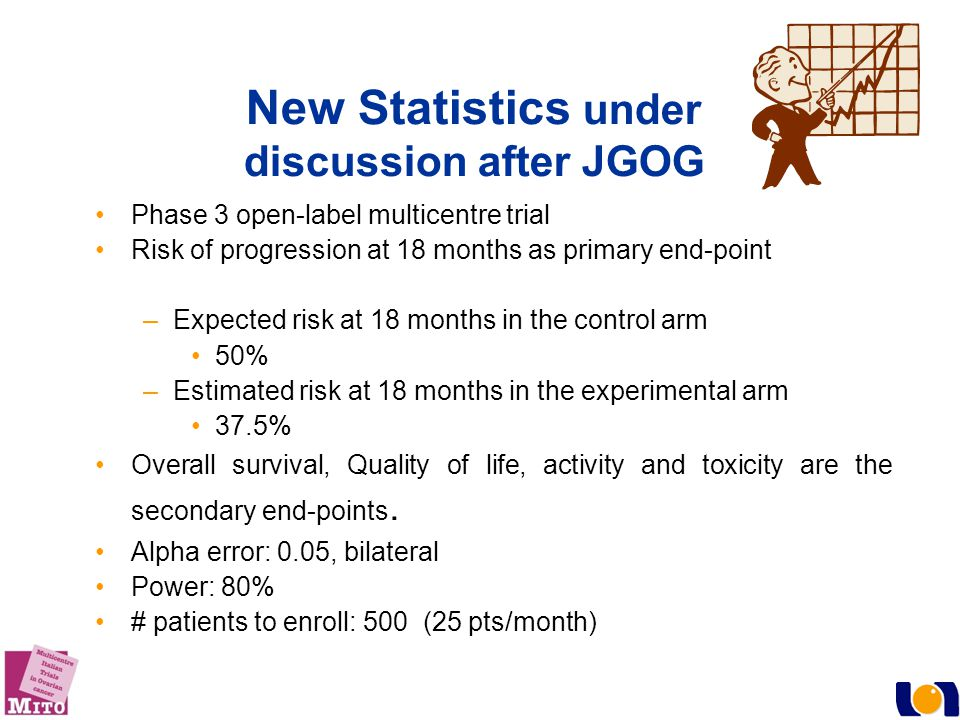 New Statistics under discussion after JGOG