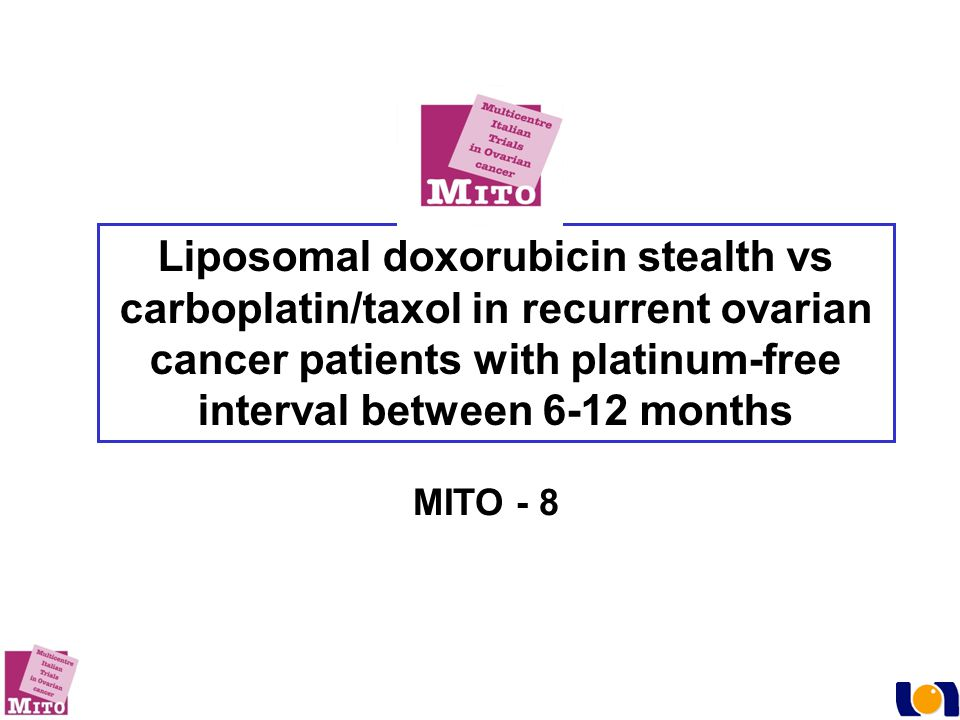 Liposomal doxorubicin stealth vs carboplatin/taxol in recurrent ovarian cancer patients with platinum-free interval between 6-12 months