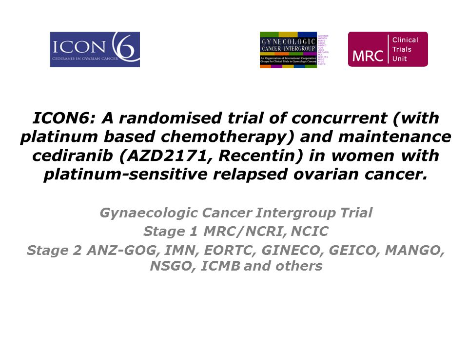 Gynaecologic Cancer Intergroup Trial