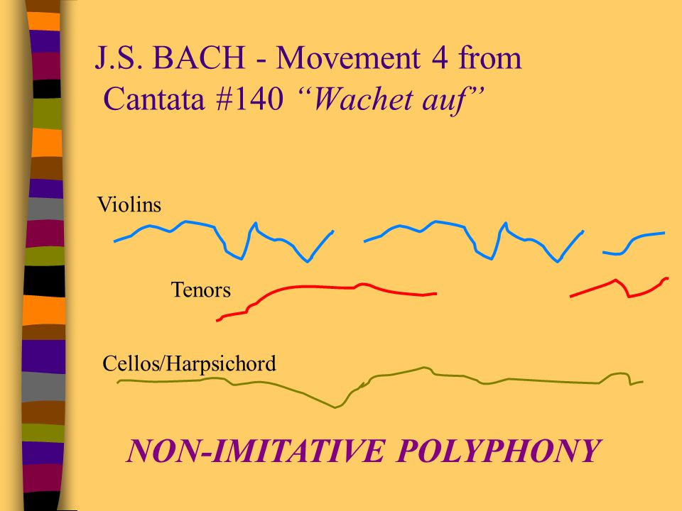J.S. BACH - Movement 4 from Cantata #140 Wachet auf