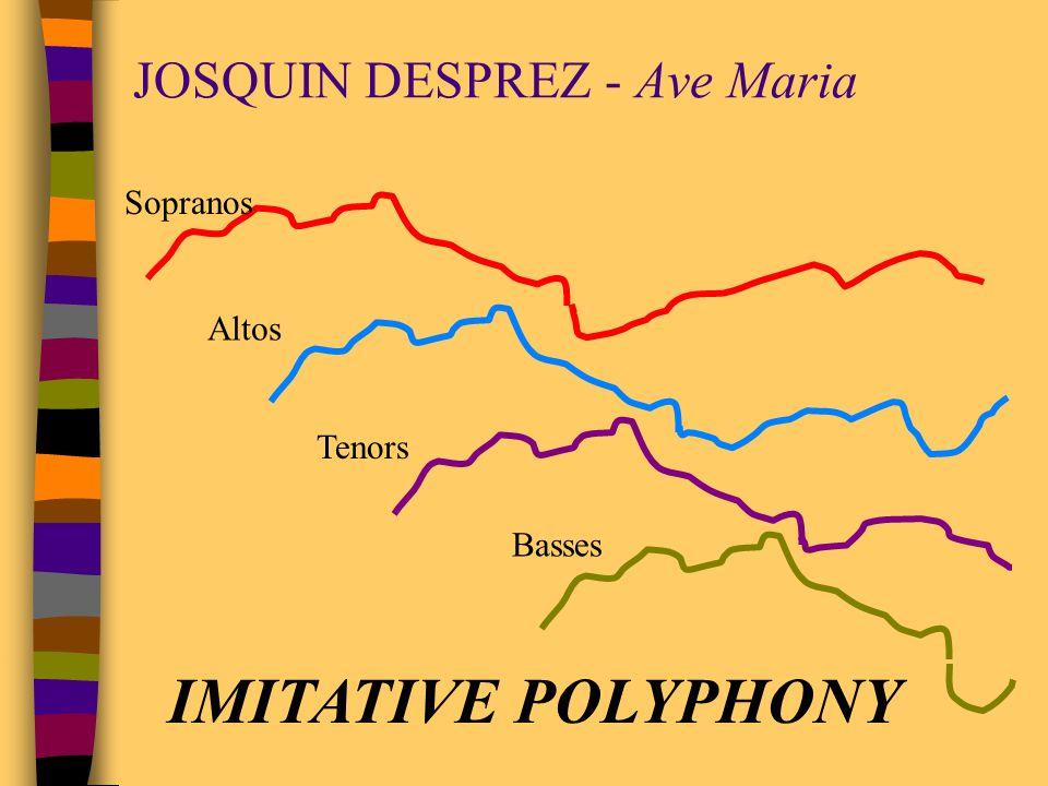 JOSQUIN DESPREZ - Ave Maria