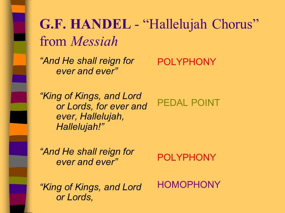 G.F. HANDEL - Hallelujah Chorus from Messiah
