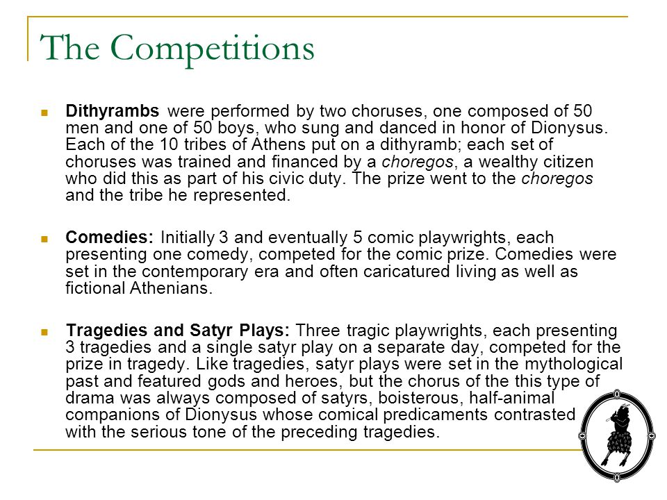 The Competitions