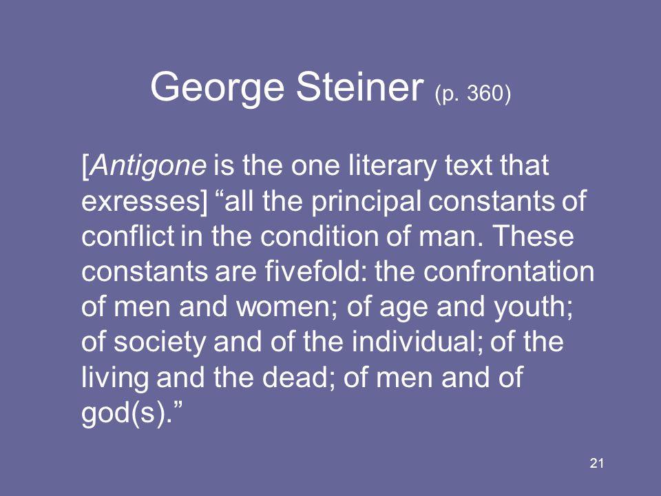George Steiner (p. 360)