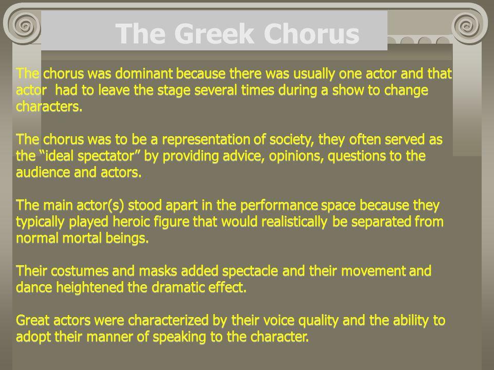 The Greek Chorus