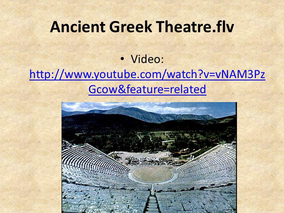 Ancient Greek Theatre.flv