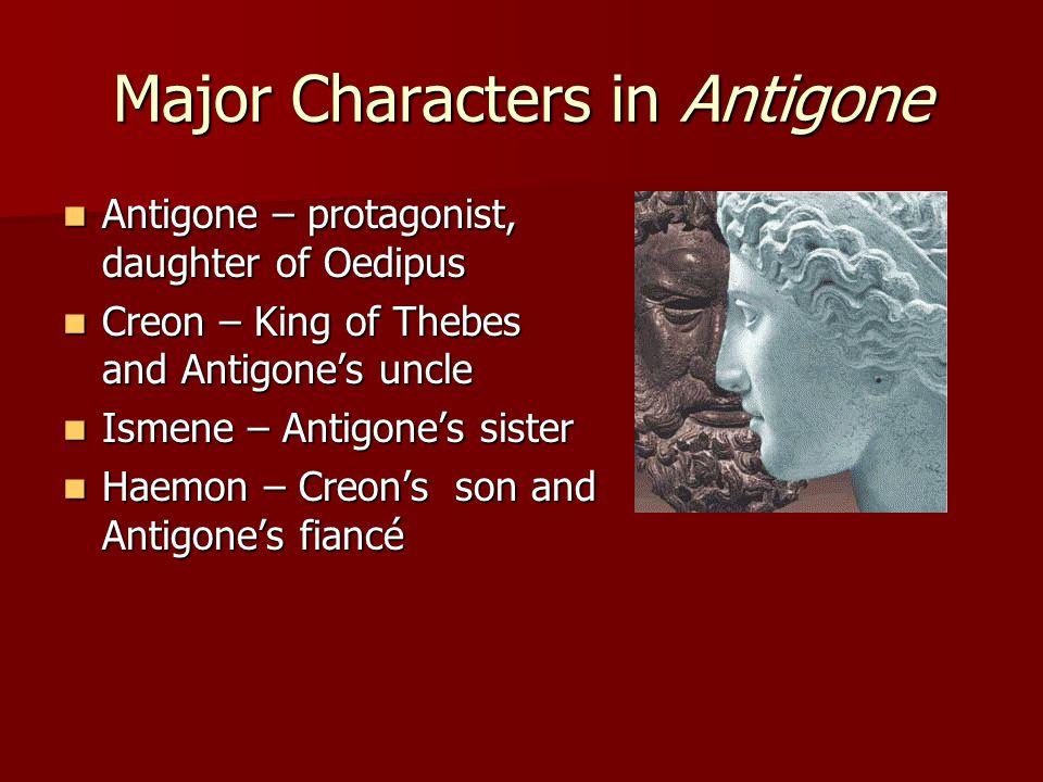 Major Characters in Antigone
