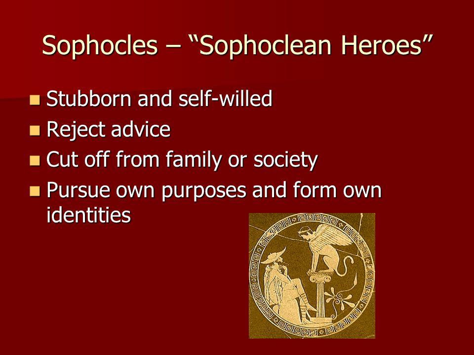 Sophocles – Sophoclean Heroes