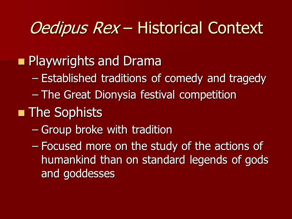 Oedipus Rex – Historical Context