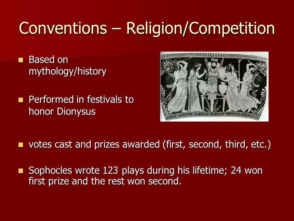Conventions – Religion/Competition