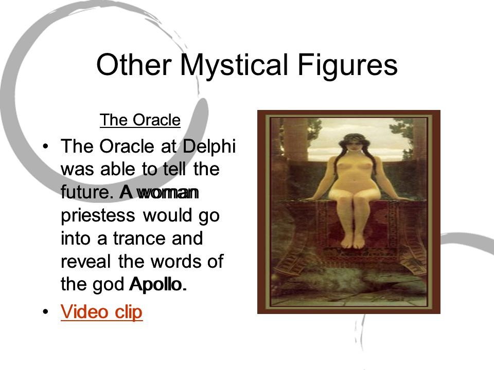 Other Mystical Figures