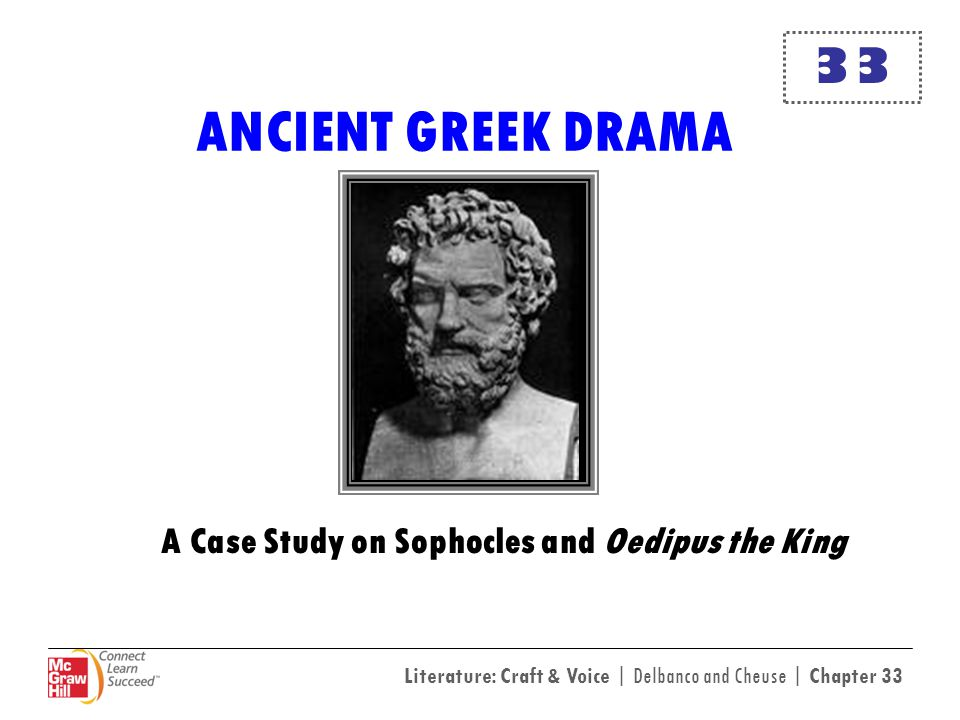 A Case Study on Sophocles and Oedipus the King