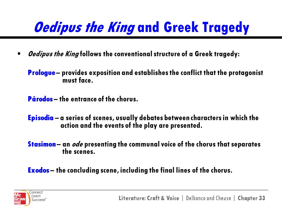 Oedipus the King and Greek Tragedy