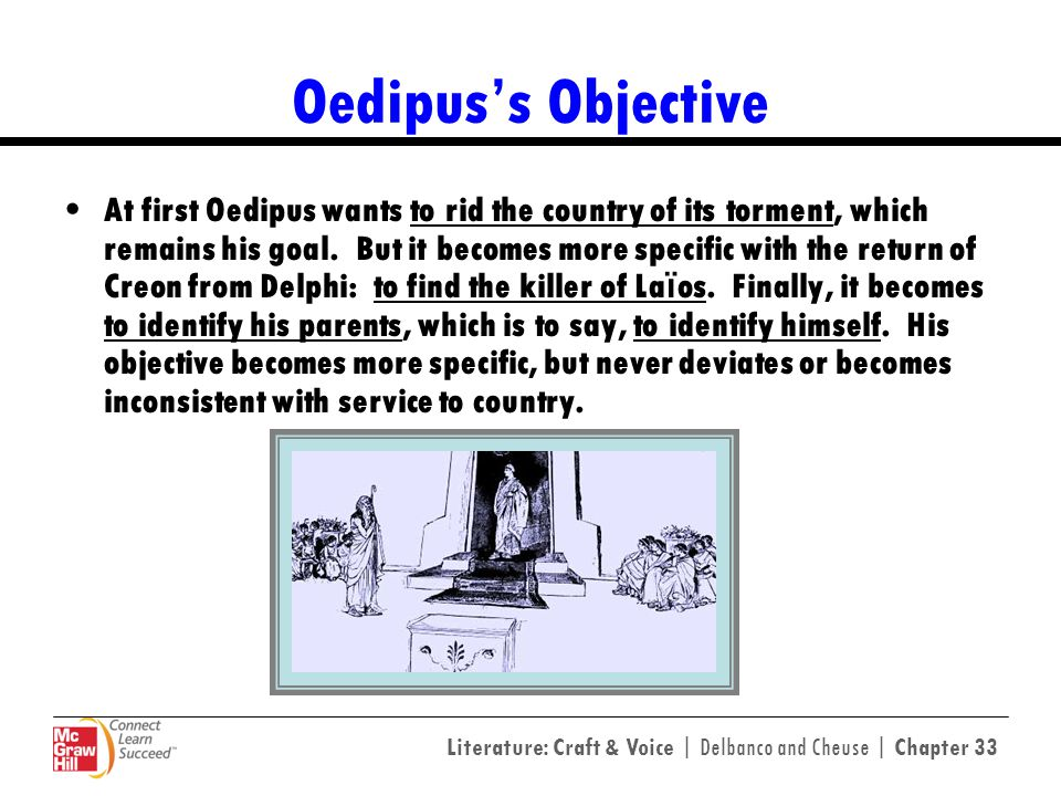 Oedipus's Objective