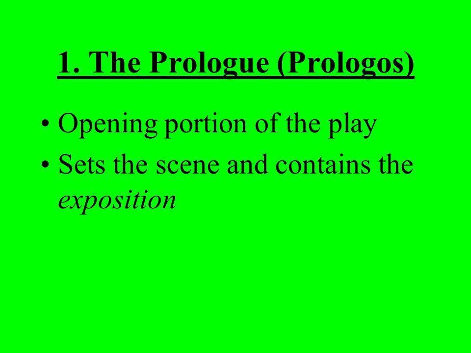 1. The Prologue (Prologos)
