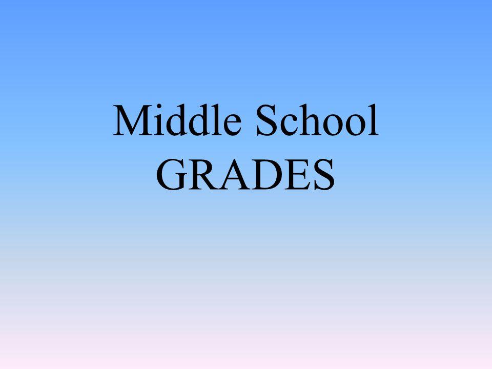 Middle School GRADES