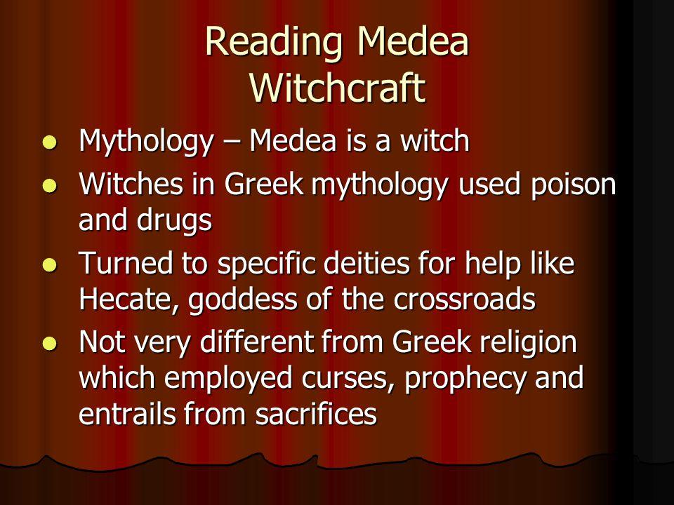 Reading Medea Witchcraft