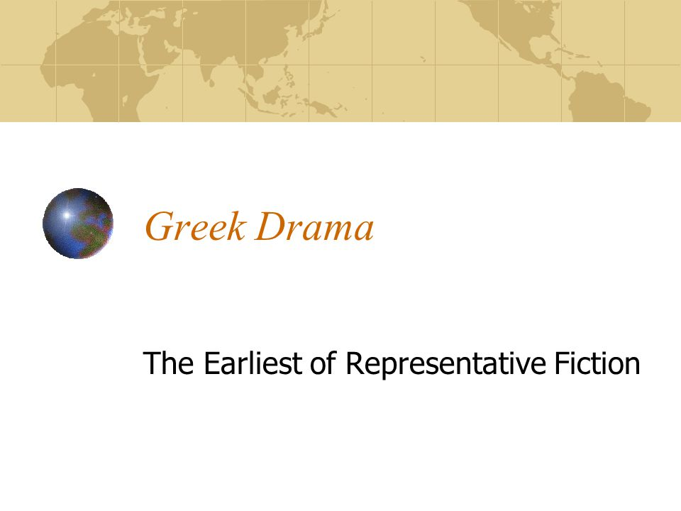 The Earliest of Representative Fiction