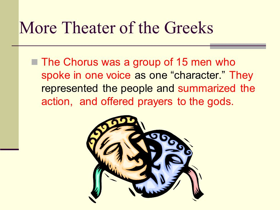 More Theater of the Greeks