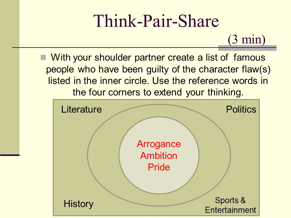 Think-Pair-Share (3 min)