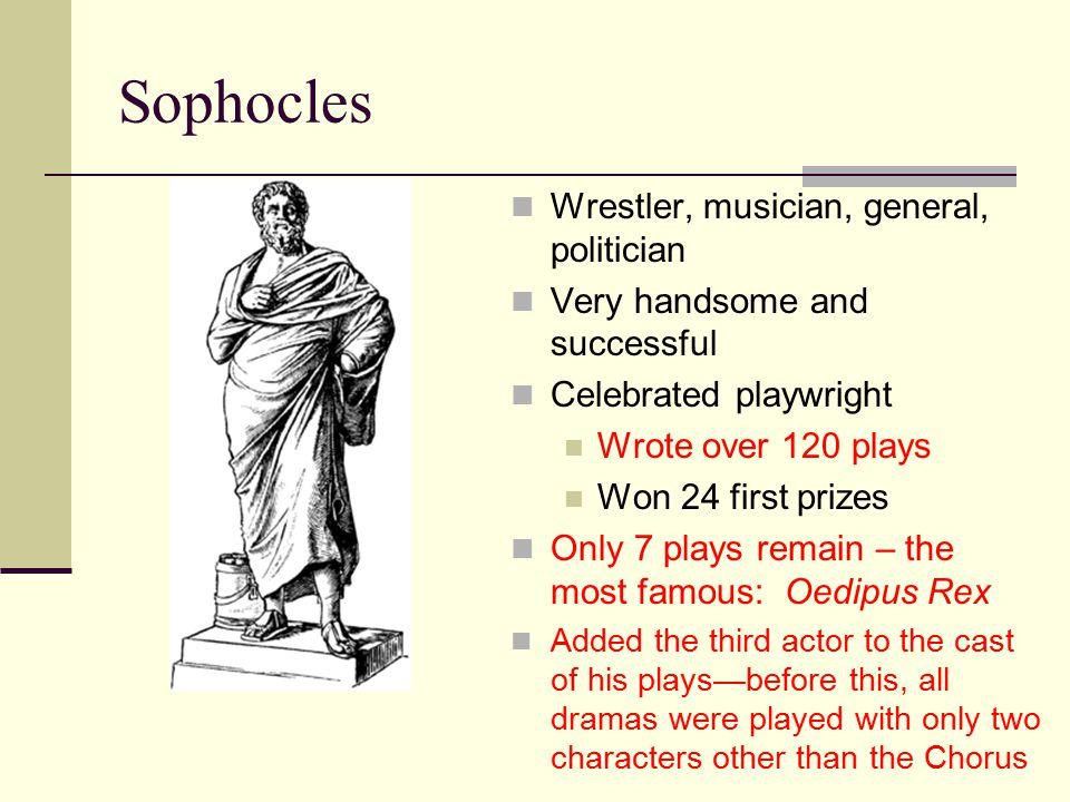 Sophocles Wrestler, musician, general, politician
