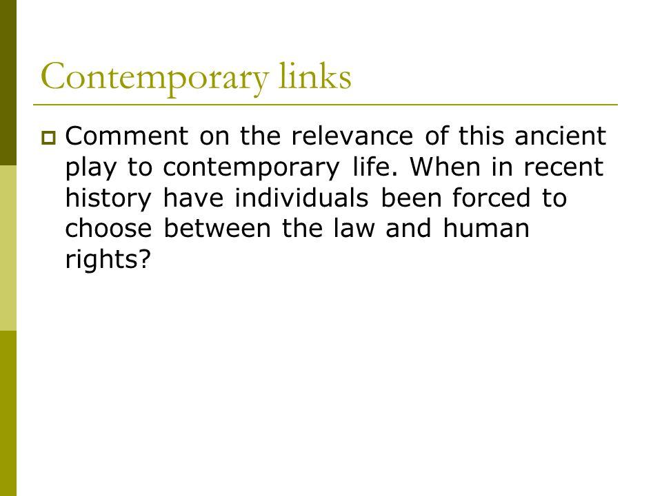Contemporary links