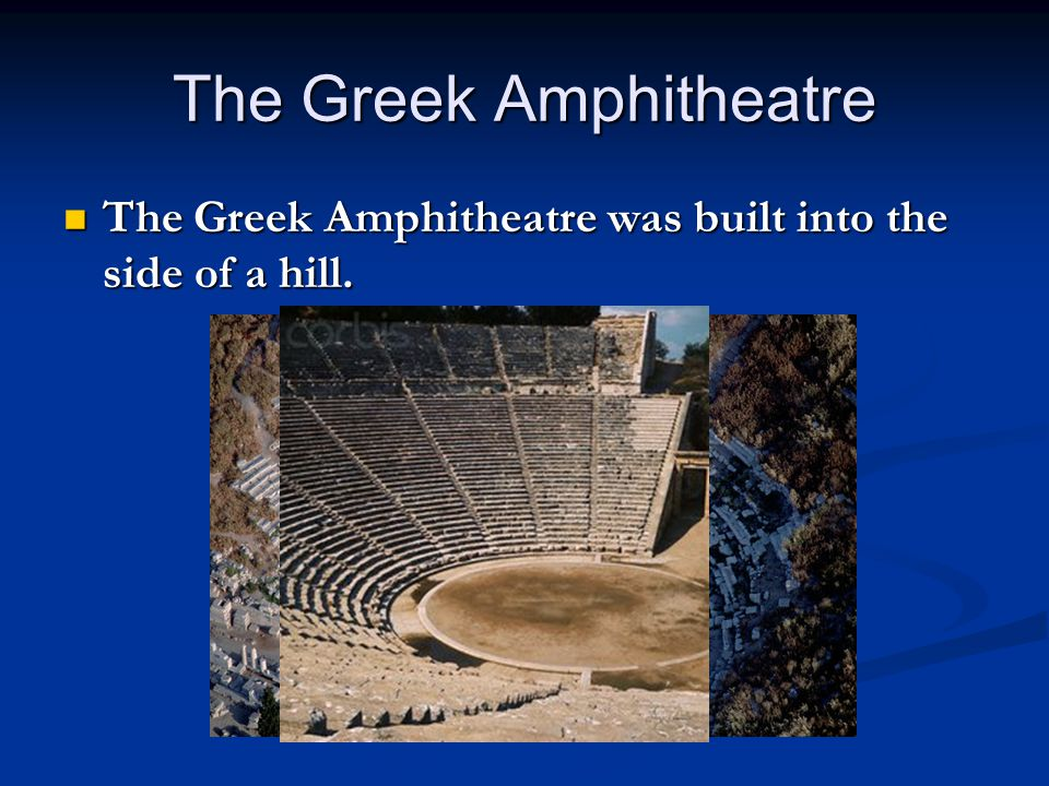 The Greek Amphitheatre