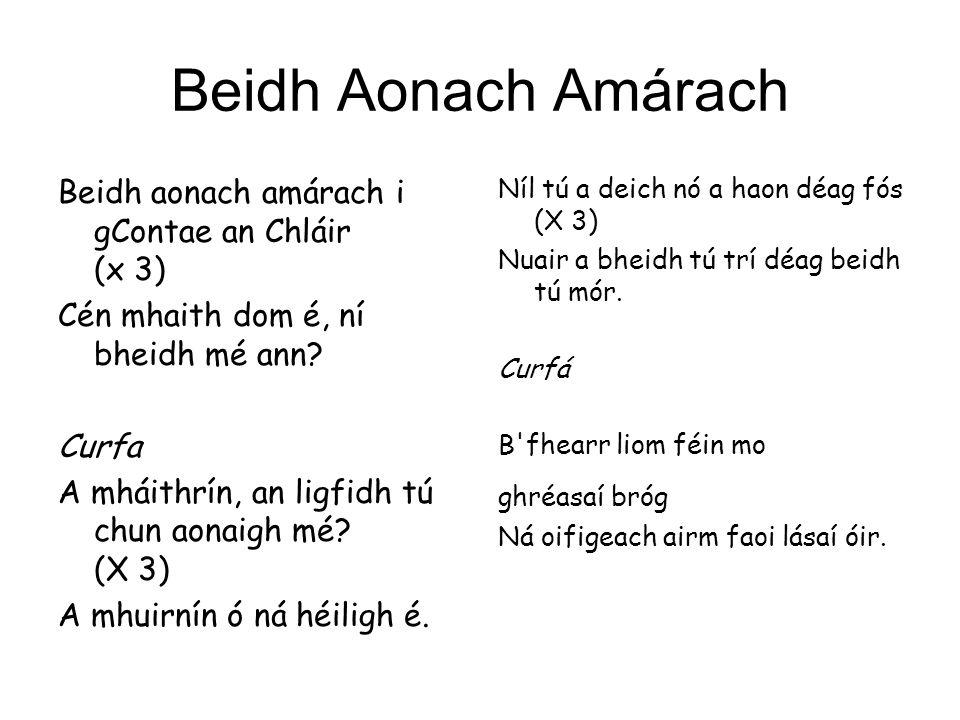 Beidh Aonach Amárach Beidh aonach amárach i gContae an Chláir (x 3)