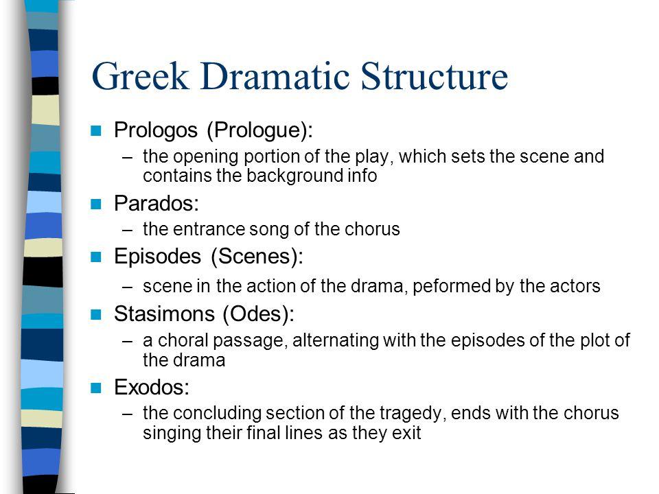 Greek Dramatic Structure