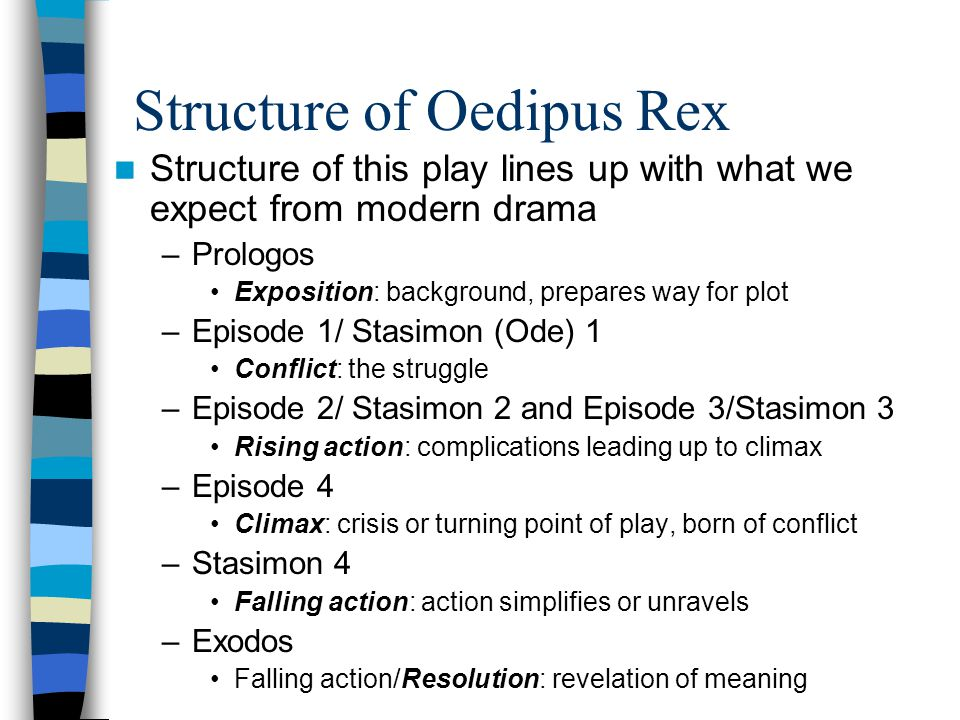 Structure of Oedipus Rex