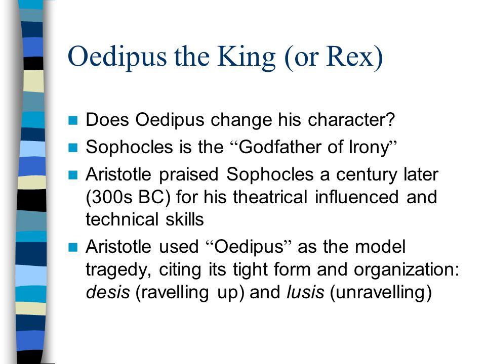 Oedipus the King (or Rex)
