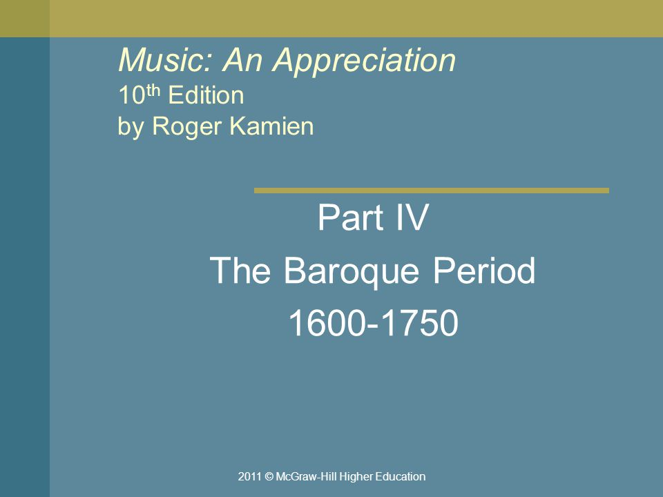 Music: An Appreciation 10th Edition by Roger Kamien