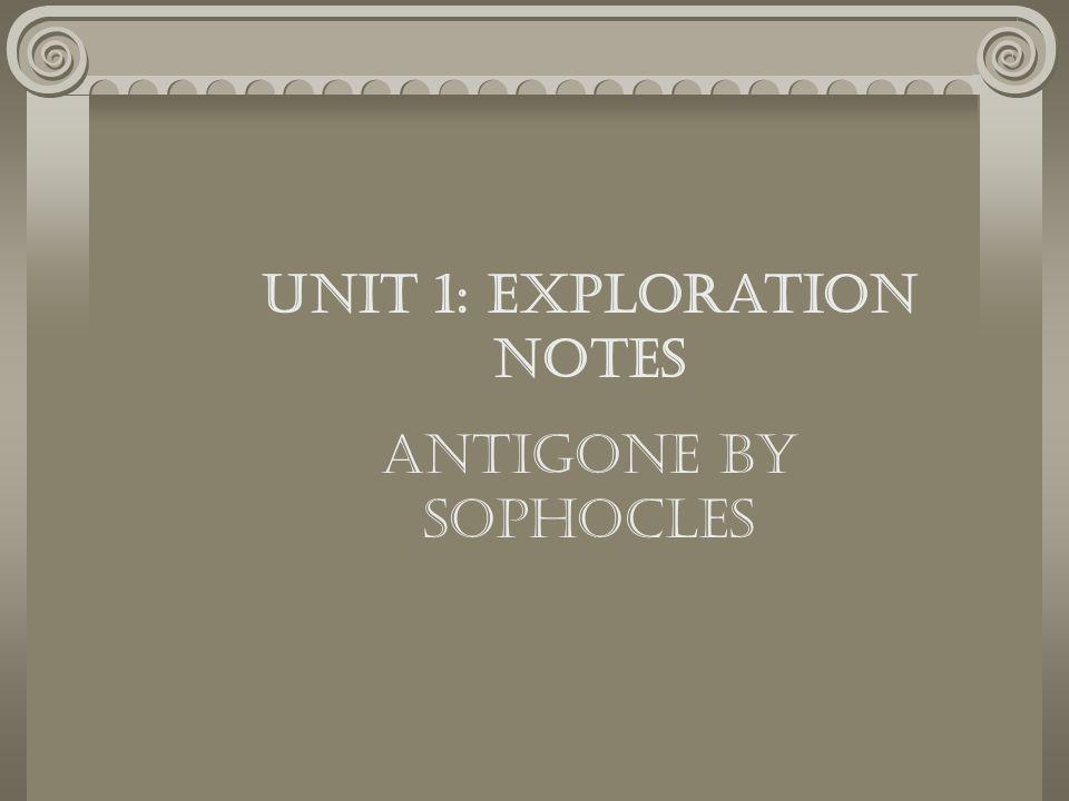 Unit 1: Exploration Notes