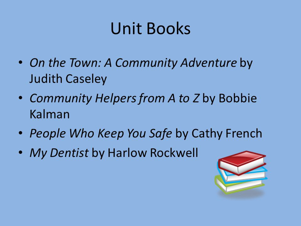 Unit Books On the Town: A Community Adventure by Judith Caseley