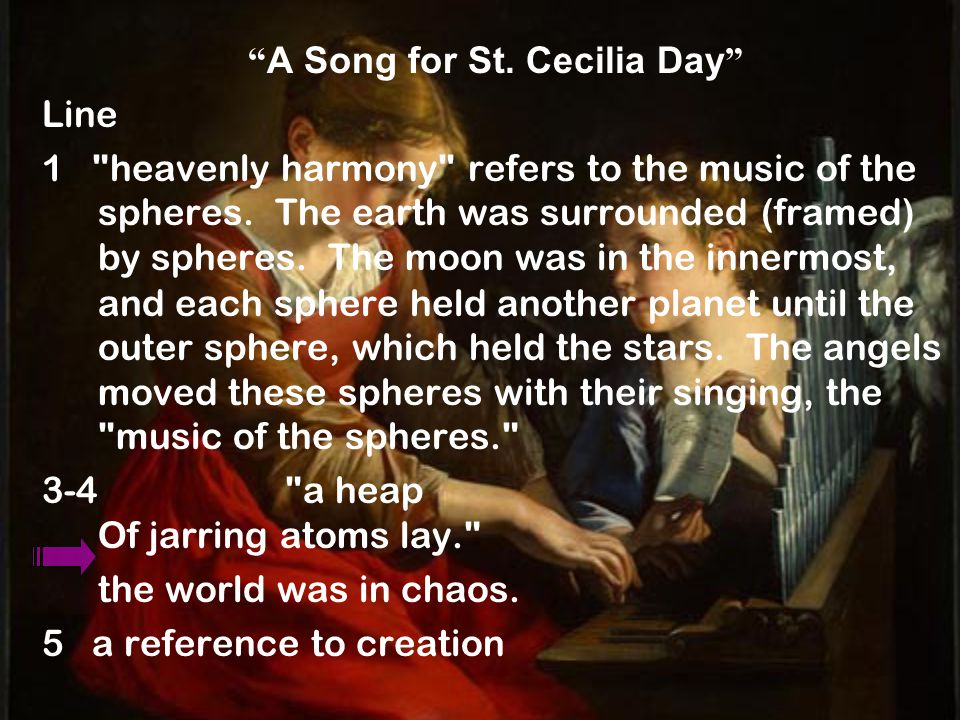 A Song for St. Cecilia Day