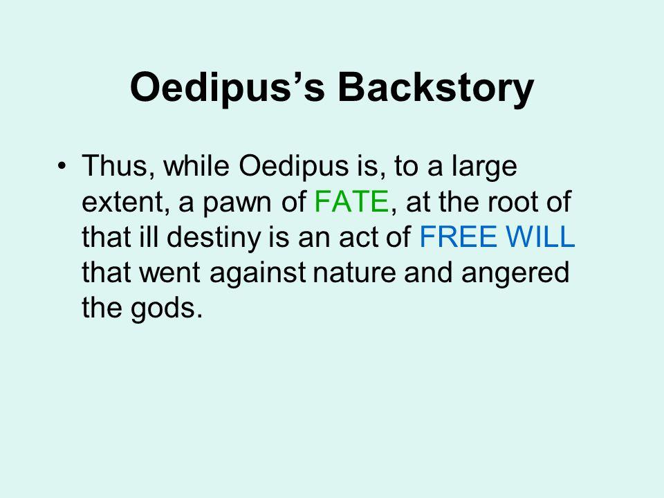 Oedipus's Backstory