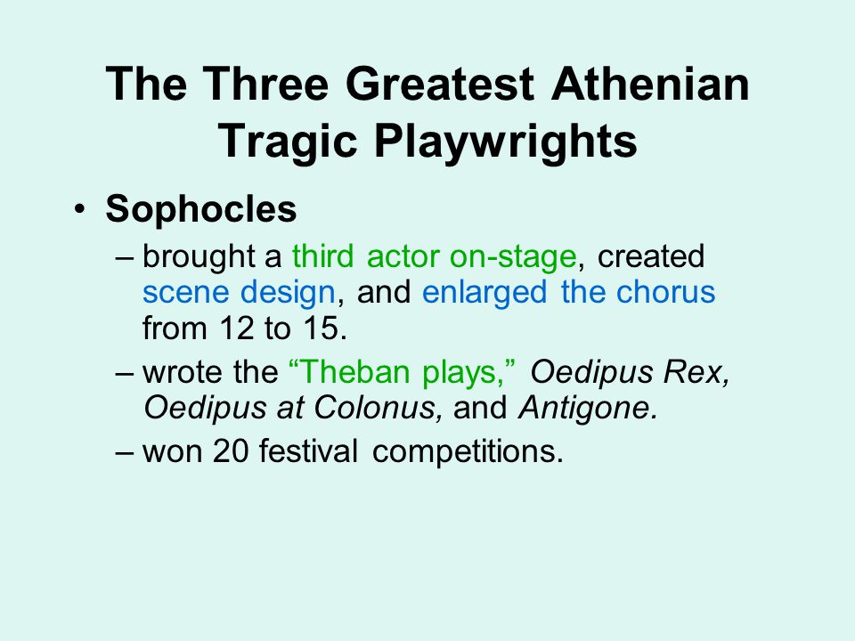 Character Analysis of Oedipus