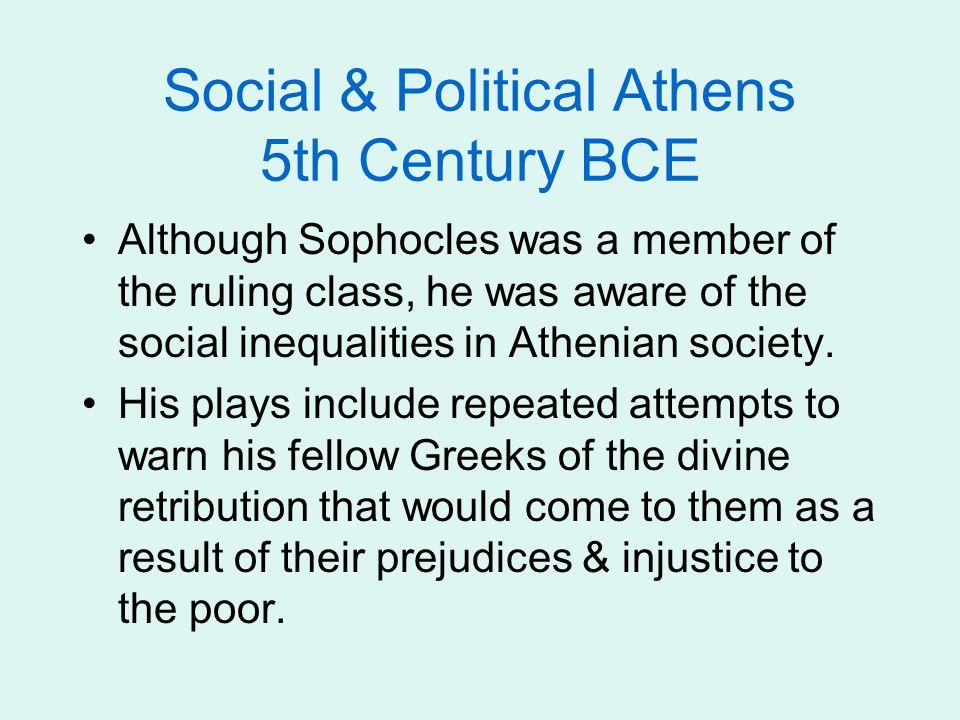 Social & Political Athens 5th Century BCE